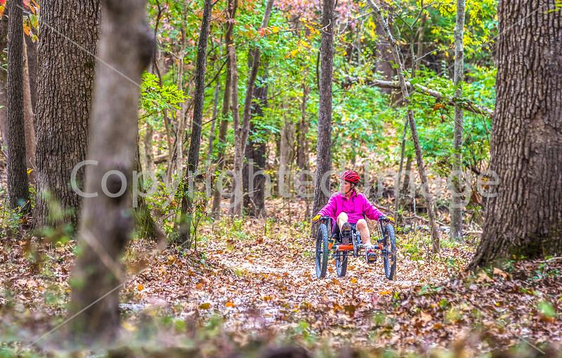 Fall Triking along Missouri Trails