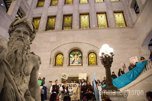 NoDAPL at City Hall 10/25/16