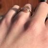 1.86ct Rustic Rose Cut Diamond Bezel Ring 3