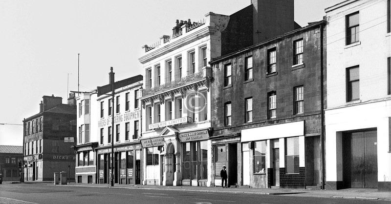 Broomielaw west of Robertson St.    April 1974