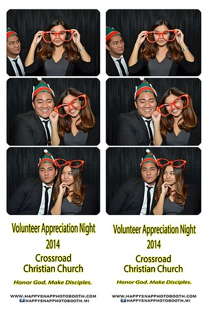 Volunteer`s Appreciation Night - Dec 5, 2014