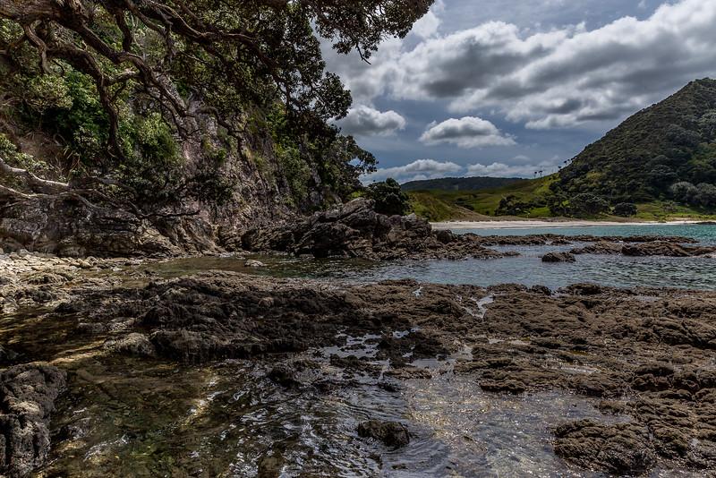 Blick auf die Smugglers Bay