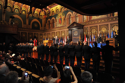 Georgetown University SROTC Commissioning, 16 MAY 14