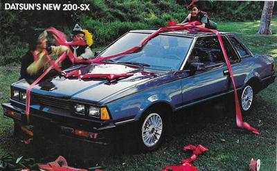 1980 Datsun 200SX (owned ~1988 - ~1992.)