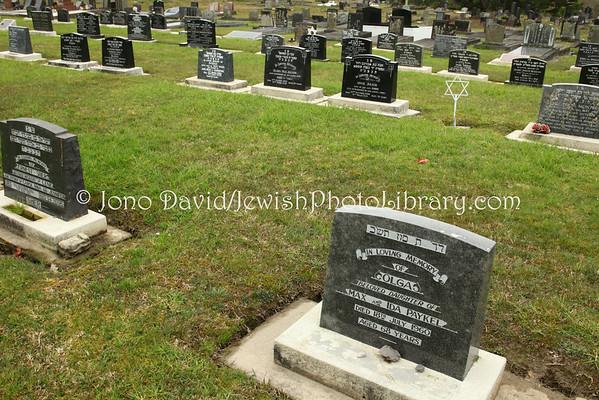 NEW ZEALAND, Auckland. Waikumete Cemetery, Orthodox sector. (9.2010)