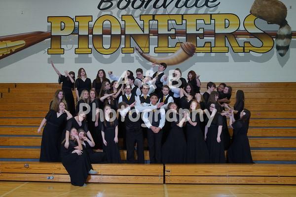 BHS Choir 2016-2017