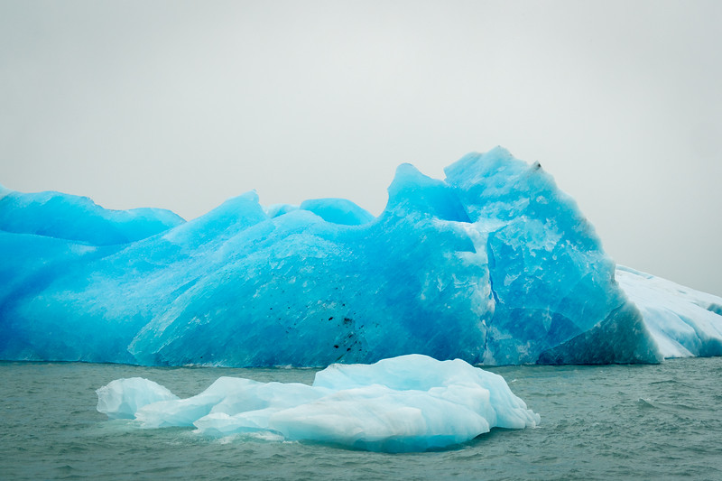 Icebergs on Lake Argentino
