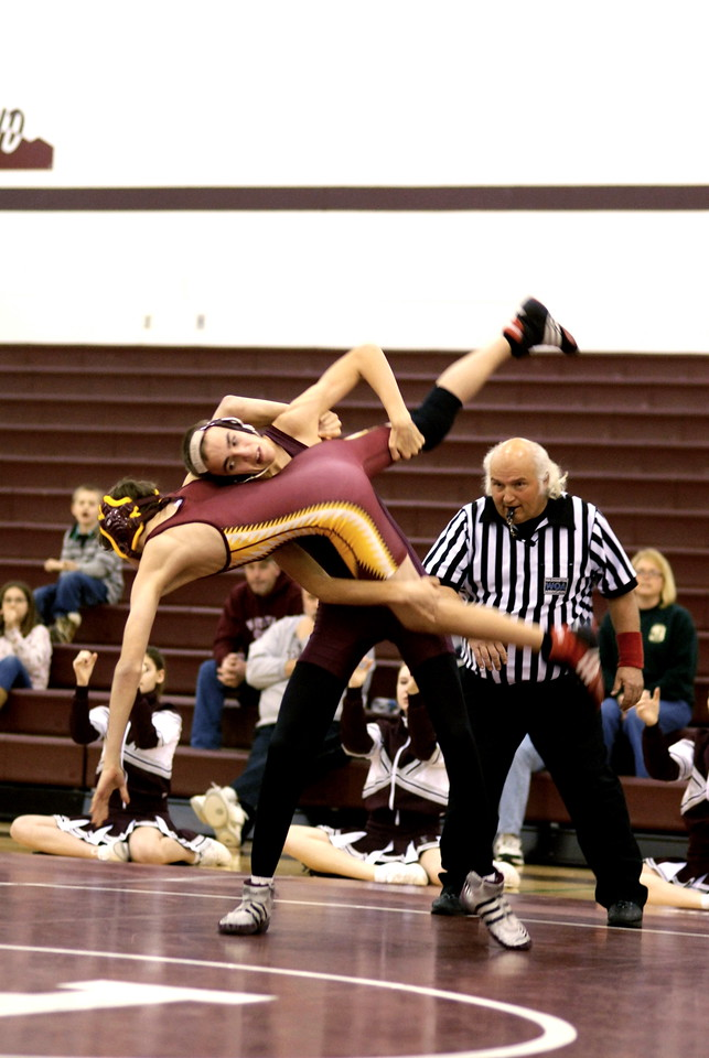 2008/2009 Wrestling vs Cle Elum