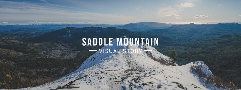 Saddle Mountain Visual Story