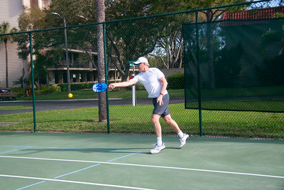 Susan and Erich at Pickleball