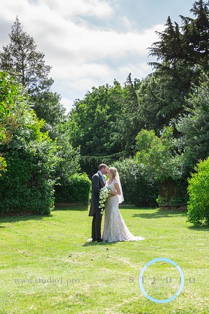 Abbey & Ian.  Holy Cross & CRONDON PARK