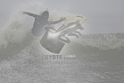 9/28/2008 - Surfing Tropical Storm Kyle at Long Beach, NY