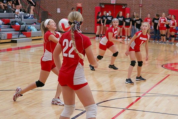 WMS 7/8 VOLLEYBALL vs Winfield 10.05.17