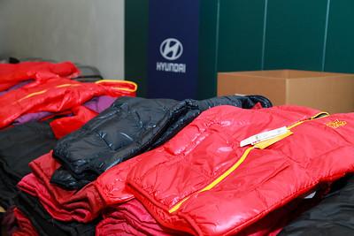 Hyundai Coat Giveaway Flagship Academy 2019
