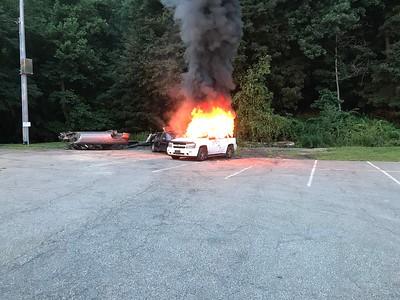 7-31-18 Car Fire Drill