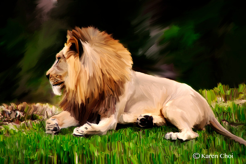 sm Lion painting 12 by 18.jpg