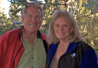 """Bill Murr and Margie Murr on location at the Grand Canyon , Az.<br />  <a href=""""http://www.buyuniqueimages.com"""">http://www.buyuniqueimages.com</a>"""