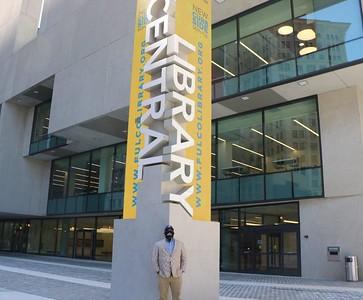 Commissioner Arrington's: Central Library  Tour