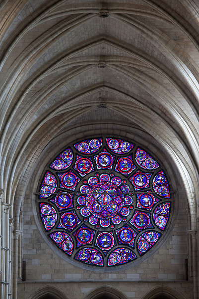 Laon Notre-Dame Cathedral Choir Rose Window