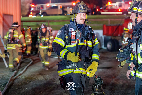 33 - Miller Trucking - Commercial Fire