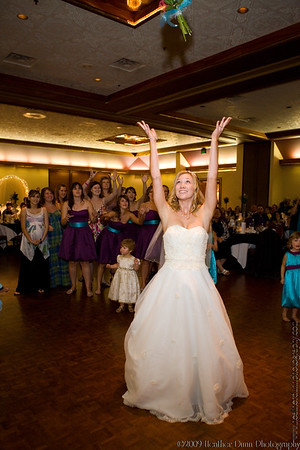 Tossing the Bouquet and Garter