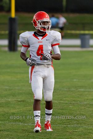 Boone Varsity Football #4 - 2011