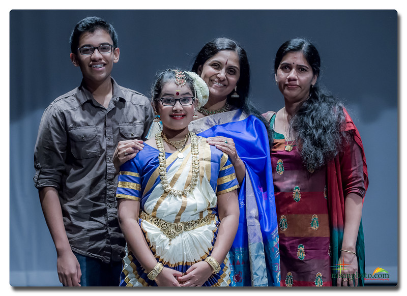 "Group Portraits - Sunanda's Performing Arts Annual Recital ""Kinkinni 2015"""