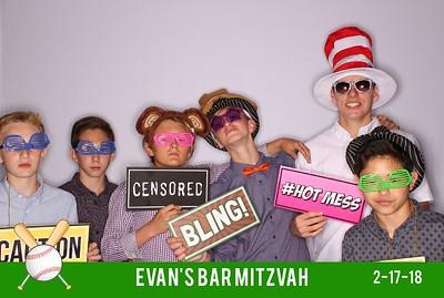 02.17 Evan's Bar Mitzvah