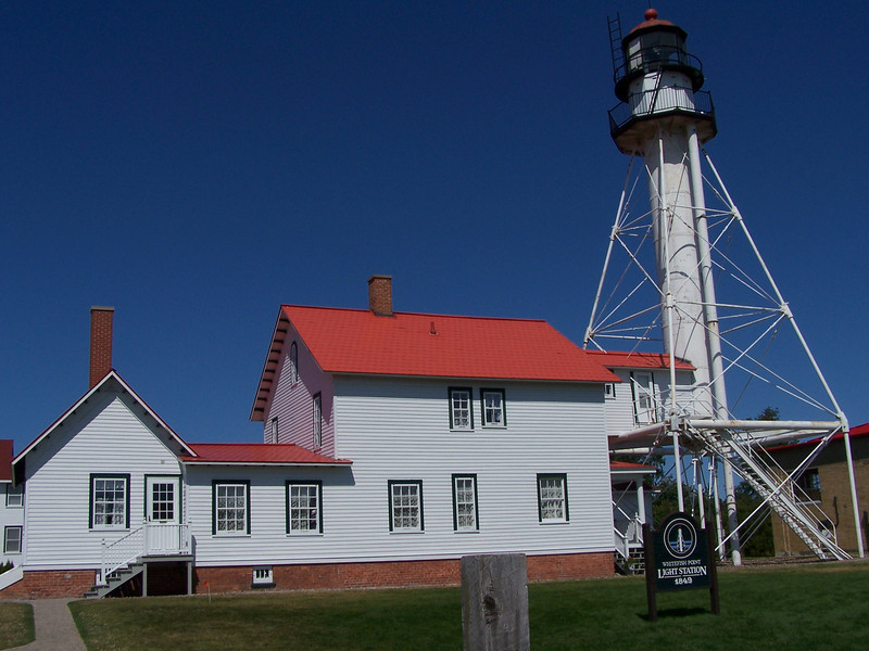 Whitefish Point Light Station, 1849.