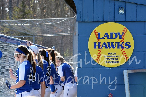 2017 Lady Hawks Softball