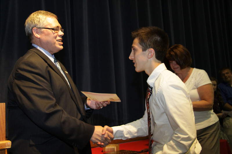 Awards Night 2012 - Student of the Year: Chemistry