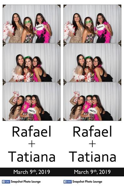 Tatiana & Rafael's Wedding - March 9th, 2019