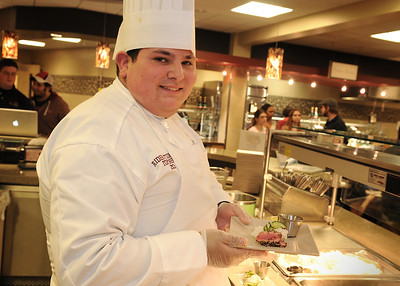 On the Mall: Student cooking competition heats up Daly's kitchen
