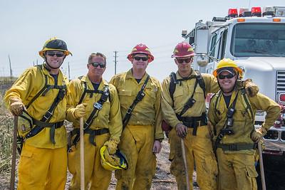 Valley Hi Brush Fire