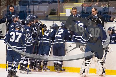 Men's Ice Hockey vs. UNE (2/14/15) Courtesy Jim Stankiewicz