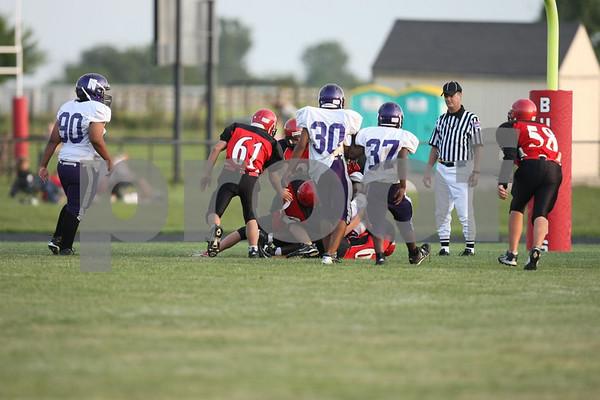Junior Varsity and Freshmen-Odessa vs Northeast 8-31-09