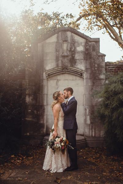 Emily + Matt Folksy Tree Wedding