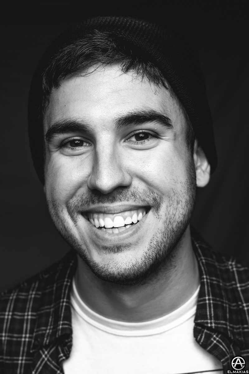 Photograph of Dave Knox of Real Friends by Adam Elmakias