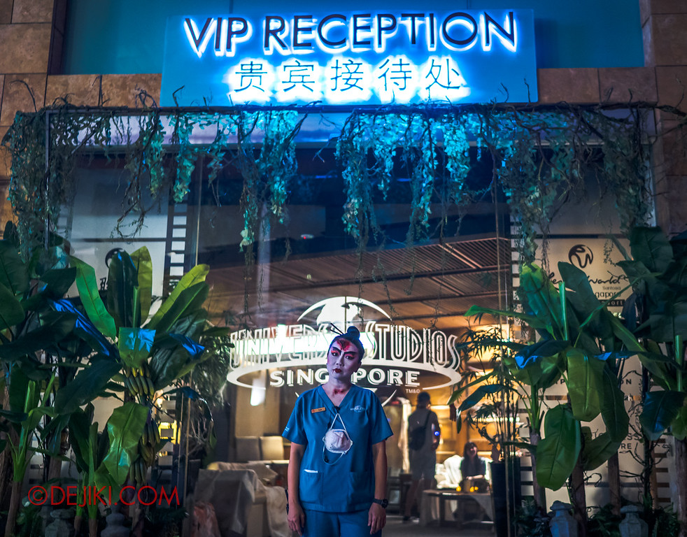 USS Halloween Horror Nights 8 RIP Tour Review - Farewell at VIP Reception