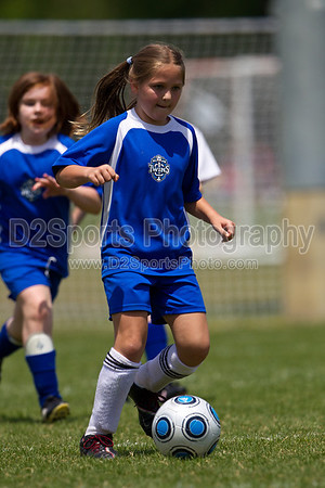U10 Girls - Lightning, Angels, Spirit, Stars 5/7/2011