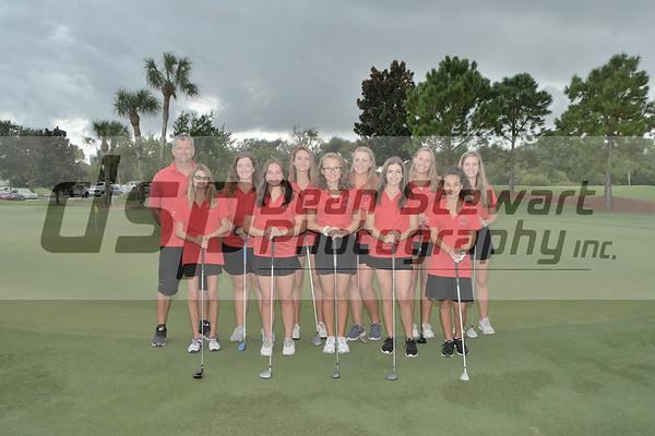 Girls Golf 10.08.19