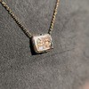 'For You I Live' 18kt Rose Gold Cast Rebus Pendant, by Seal & Scribe 17