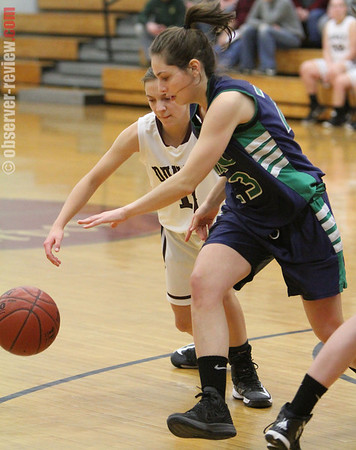 Dundee Girls Basketball 12-20-12