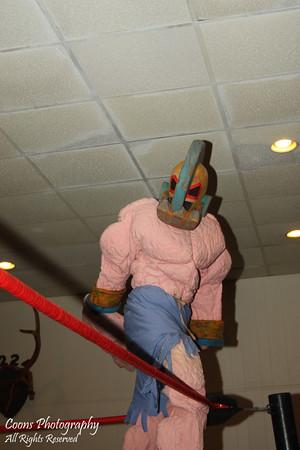 WrestleJam 7 - Monger King d. Yarsminko