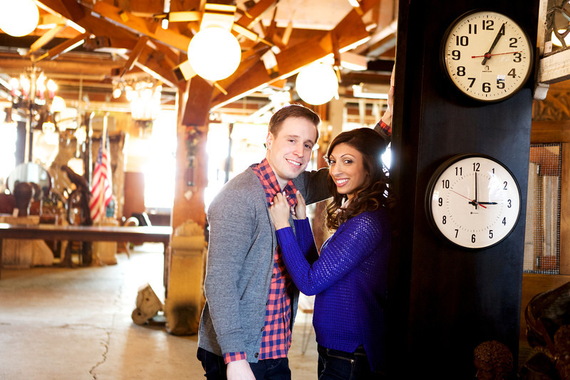 Le Cape Weddings - Neha and James Engagement Session at Salvage One Chicago - Indian Wedding  031.jpg