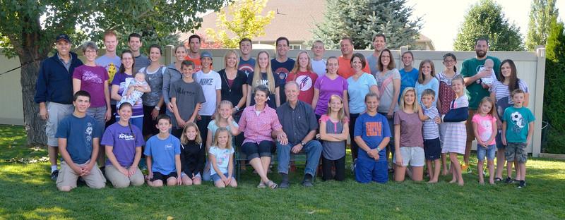 Jaussi Family Reunion 2016