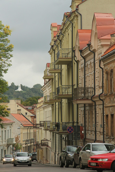 Exploring the streets of Vilnius