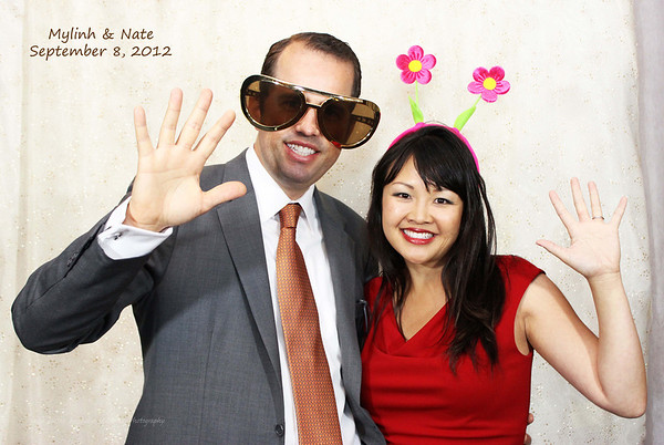 09.08.12 Mylinh + Nate's Fun Booth in color