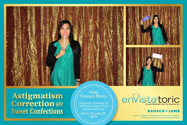 Astigmatism Correction & Sweet Confections / Envista Toric Bausch & Lomb