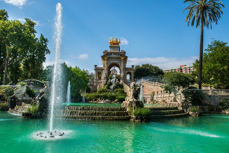 Park De La Ciutadella - Guadi Fountain